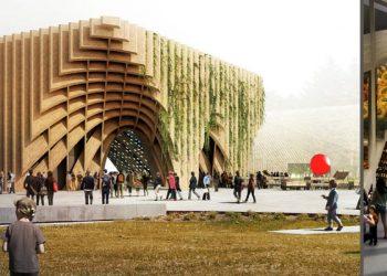 Il padiglione della Francia per l'Expo 2015