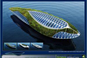 Il progetto Physalia dell'architetto Callebaut
