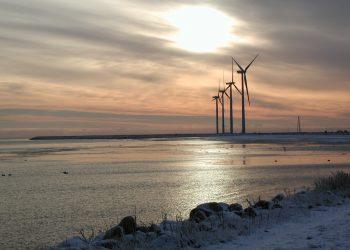 Un impianto eolico