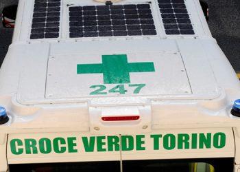 Un'ambulanza della Croce Verde di Torino