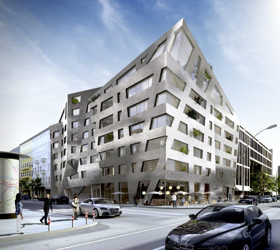 L'edificio dalle vetrate antibatteriche dell'architetto Daniel Libeskind