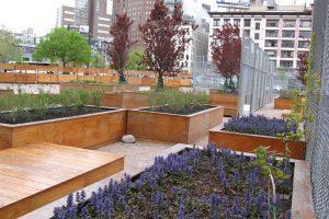LentSpace, il giardino temporaneo di Manhattan