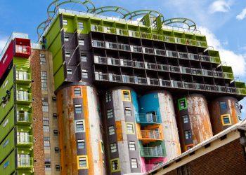Johannesburg, case nei silos