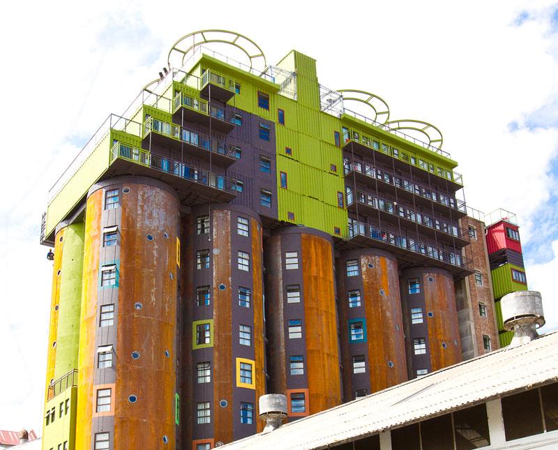 A johannesburg alloggi per studenti dentro i silos for Alloggi ad amsterdam