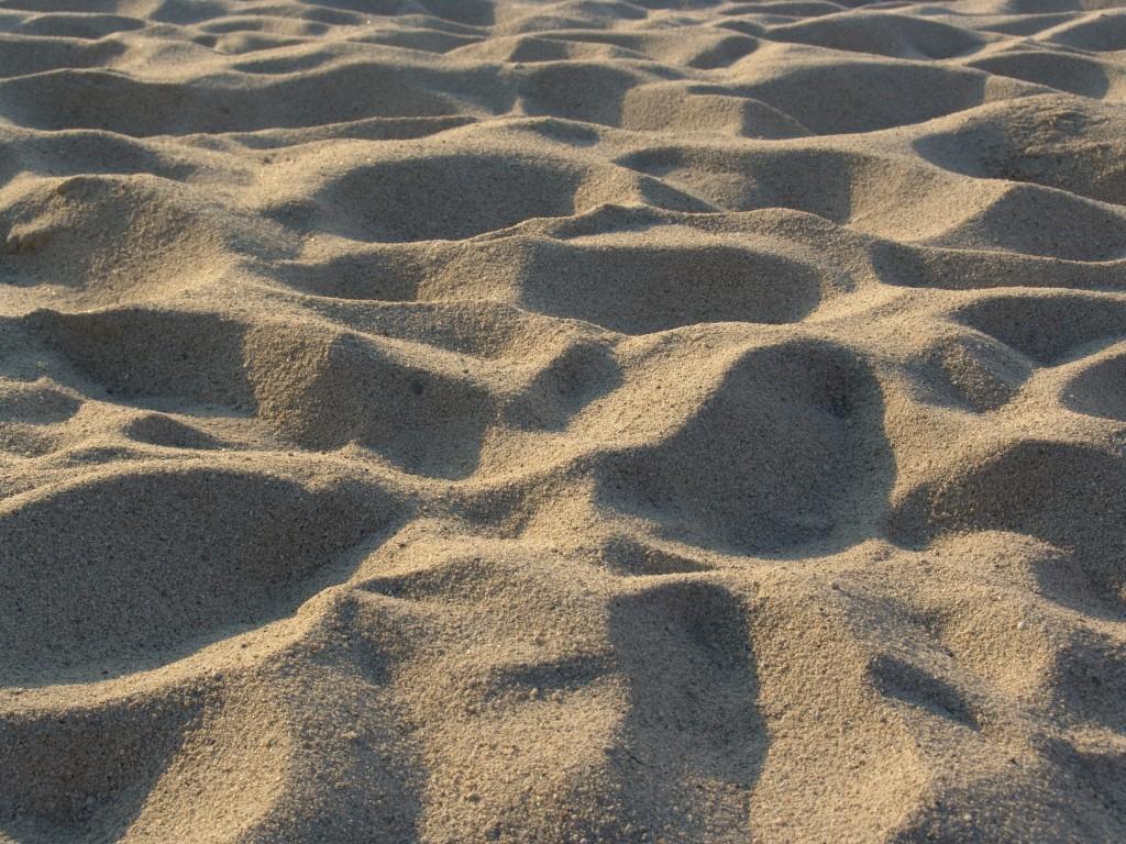 Una distesa di sabbia