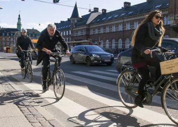 Ciclisti a Copenaghen