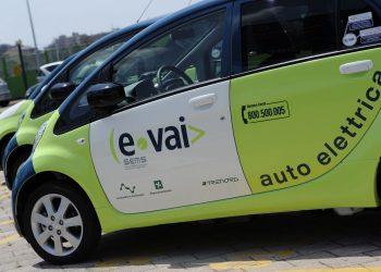 Un'auto ecologica