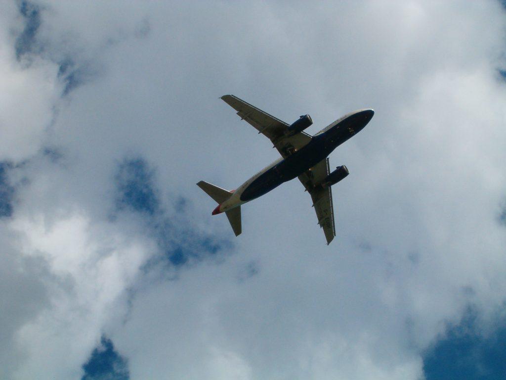 Un aereo di linea