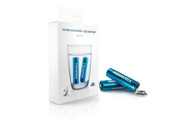 Aquacell, le batterie ad acqua