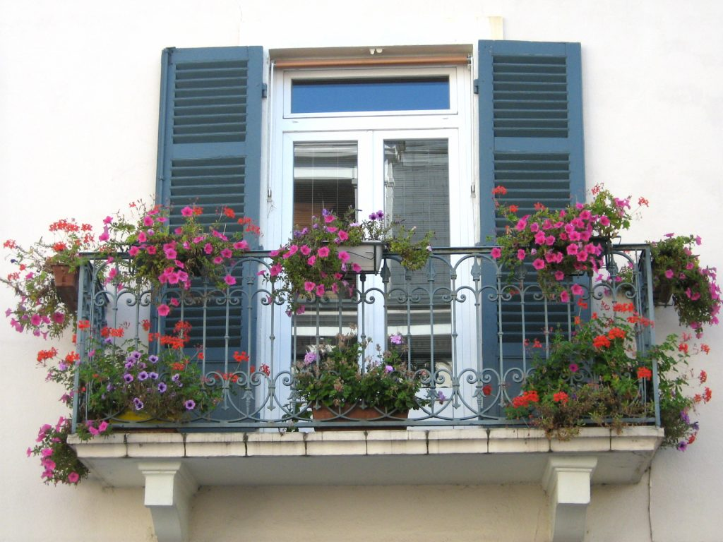 Un balcone