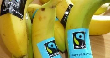 Alcune banane del commercio equo e solidale