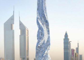 Il rendering della Dynamic Tower a Dubai