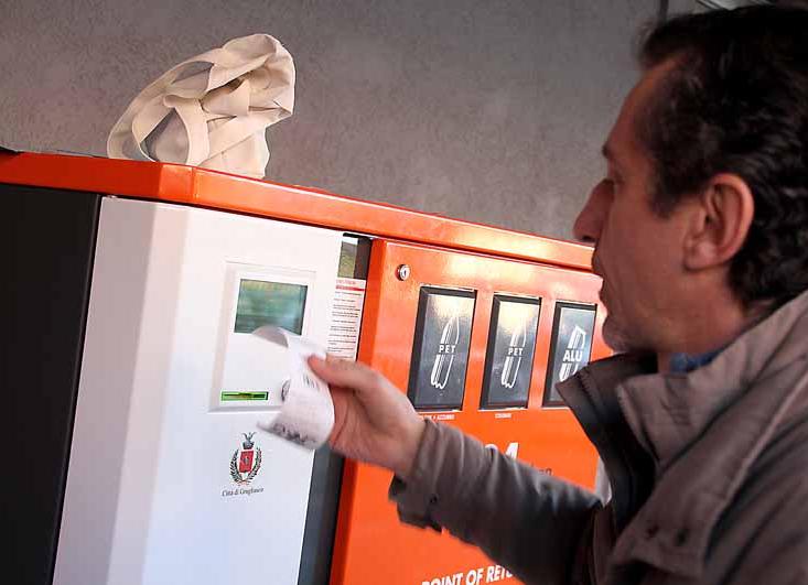 L'ecopoint di Grugliasco