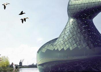 Energy Duck, l'enorme papera fotovoltaica che troverà posto nel porto di Copenaghen