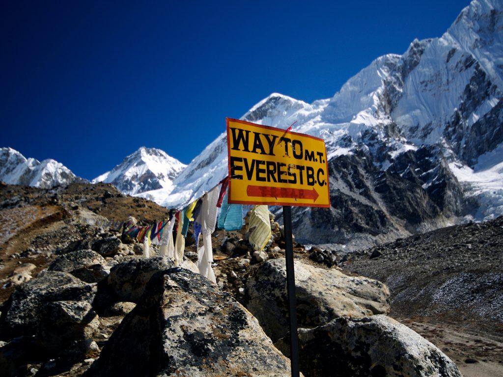 L'Everest sotto tutela
