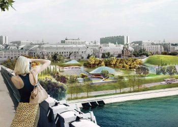 Il parco Zaryadye a Mosca