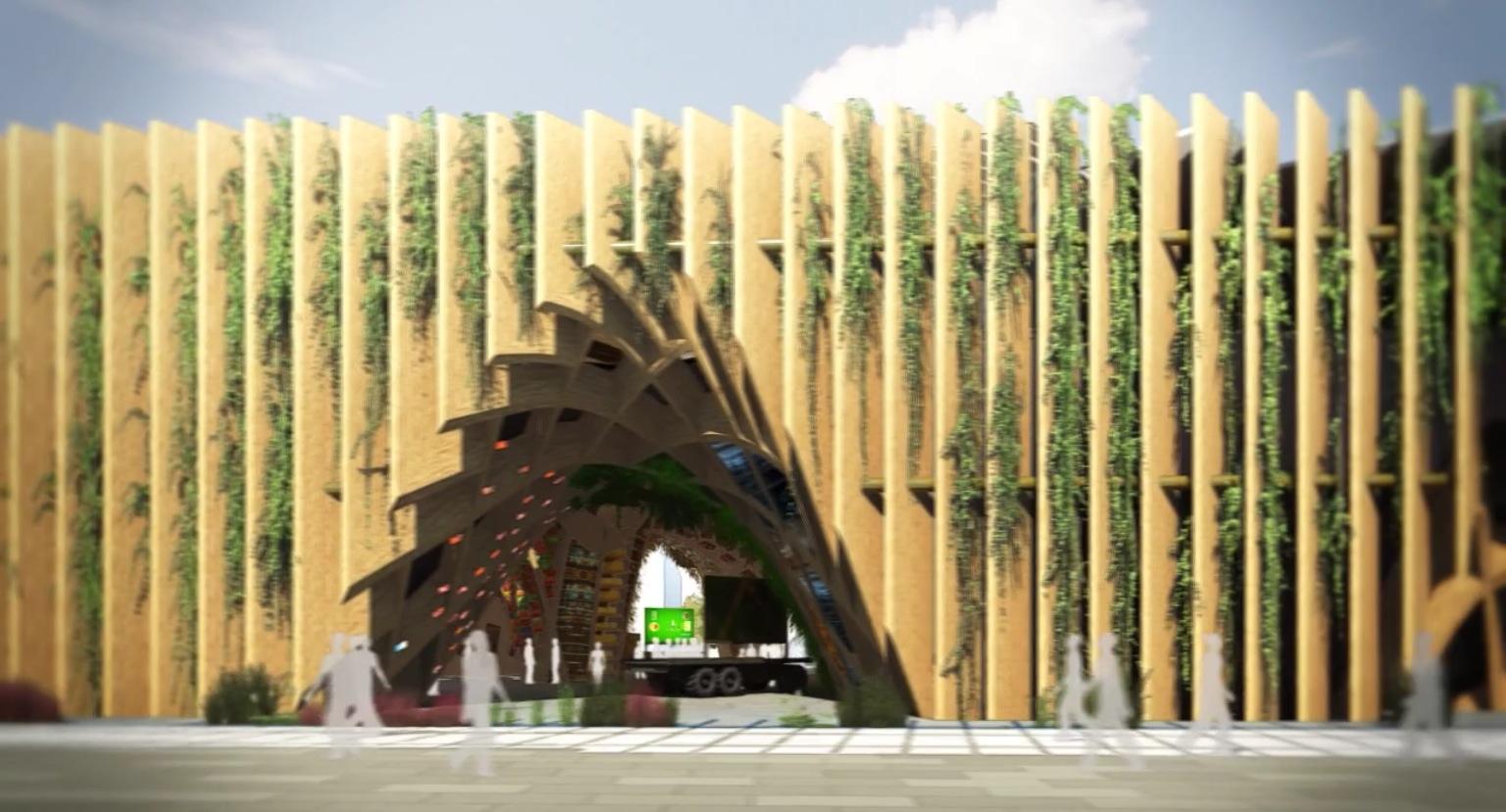 Expo Stand Brasile : La francia presenta il suo padiglione per l expo