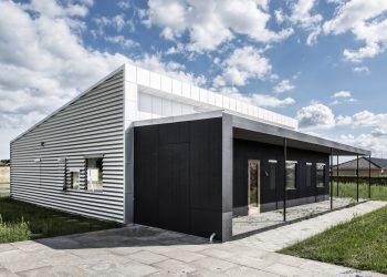 Upcycle House, la casa fatta di materiali riciclati