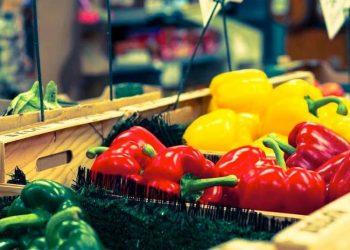 Ortaggi in vendita al Supermercato del Popolo