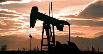 Una trivella impiegata per l'estrazione del gas dal terreno attraverso la tecnica del fracking