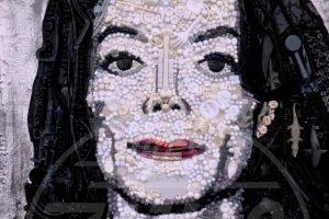 Una delle opere di Jane Perkins