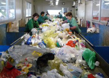 Un impianto per il trattamento dei rifiuti differenziati