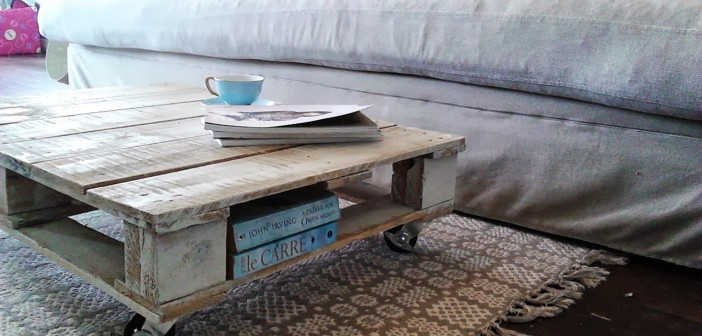 Come riciclare un bancale e farlo diventare un tavolino - Green.it