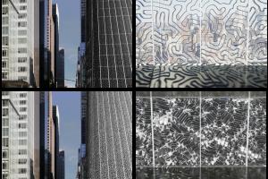 Un edificio ricoperto con lo Homeostatic Facade System