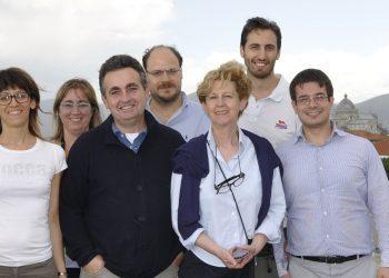 Il gruppo di ricerca dell'Università di Pisa che ha lavorato al progetto