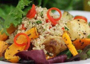 Un piatto vegetariano
