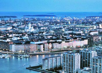 Una veduta di Helsinki