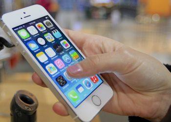Un telefono iPhone