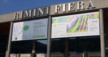 L'ingresso della Fiera di Rimini