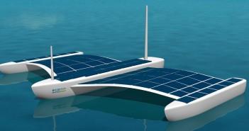Solar Powered Aquarius USV