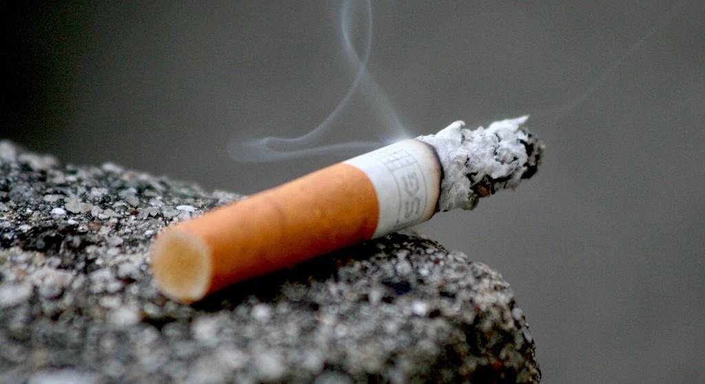 Un mozzicone di sigaretta