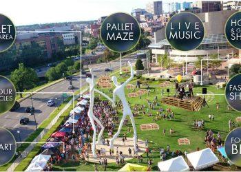 La mappa degli stand del Pallet Fest