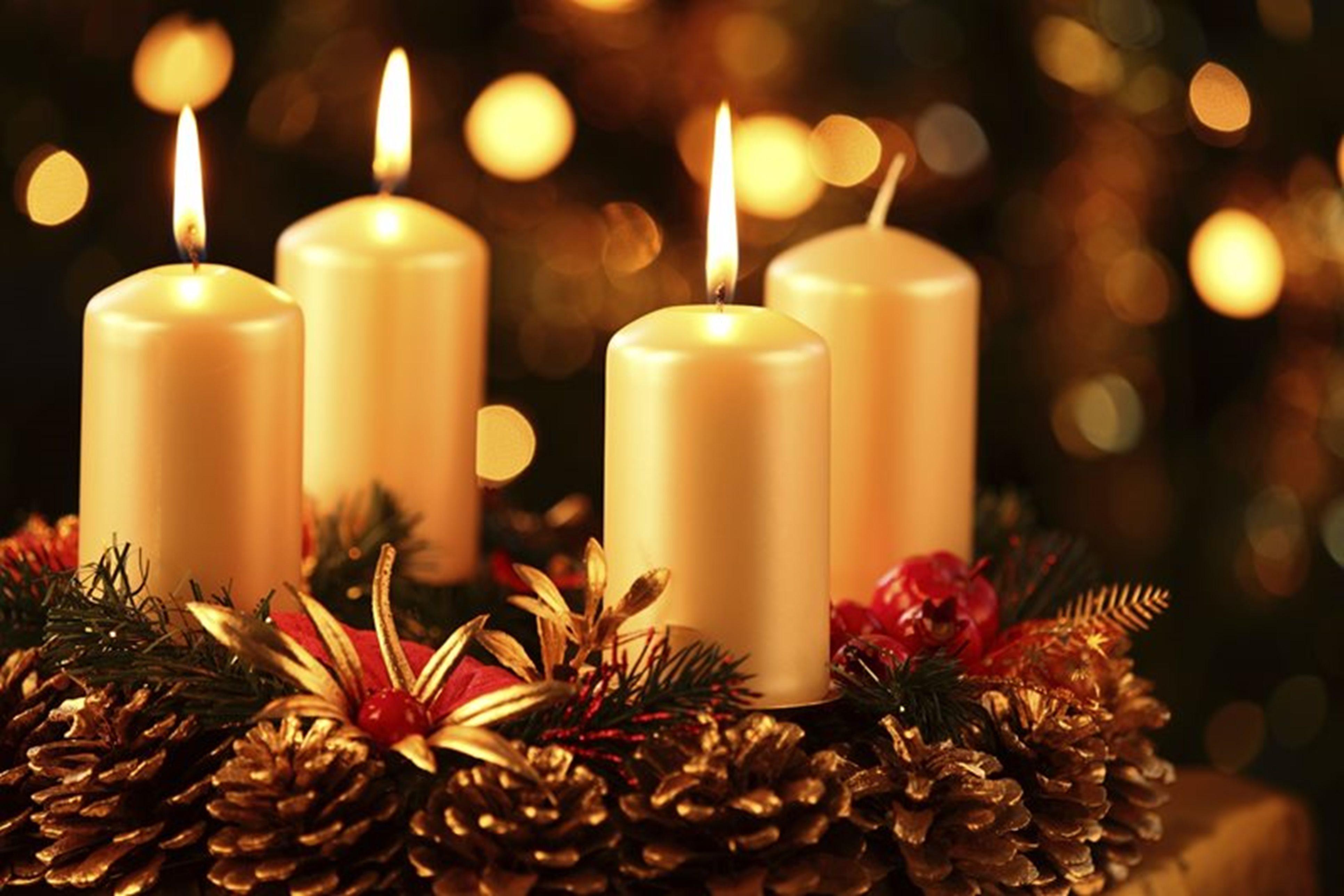 Decorare Candele Di Natale : Corona di natale idee per realizzare la più bella green