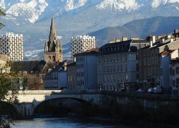 Una veduta su Grenoble (foto: www.grenoble.fr)