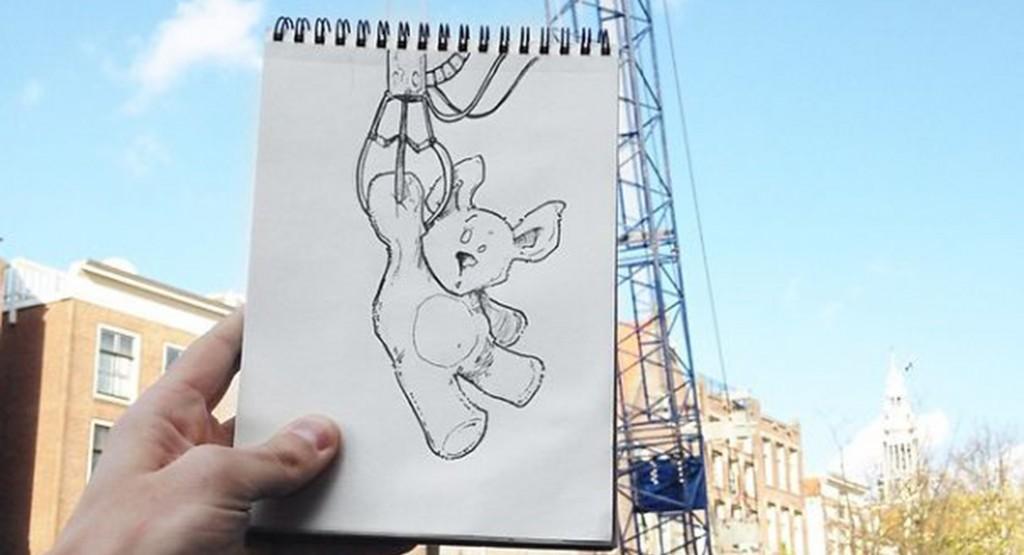 Cartoon Bombing