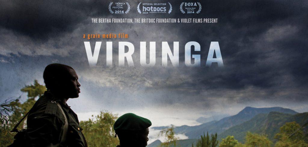 La locandina del documentario Virunga