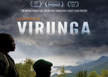 La locandina del documentario Virunga