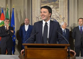 Il presidente del Consiglio italiano Matteo Renzi (foto: wikimedia.org)