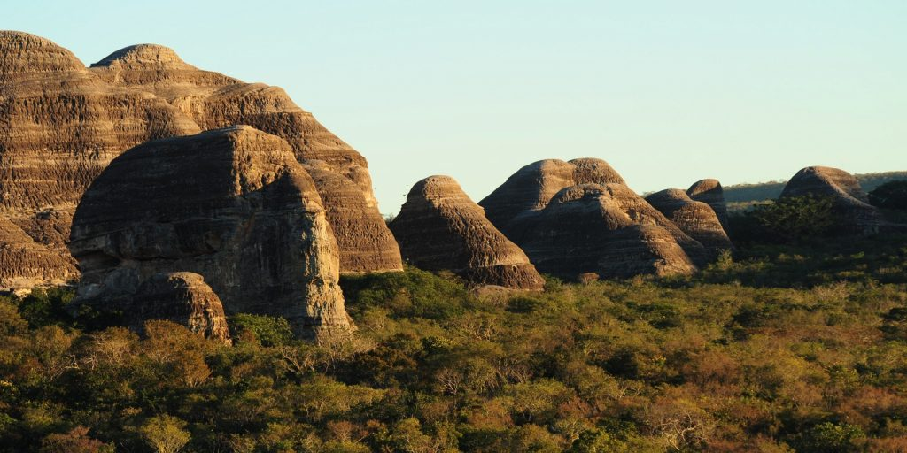 Una veduta del nuovo parco nazionale in Brasile (foto: http://www.thousandwonders.net/)