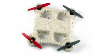 Il prototipo di drone biodegradabile