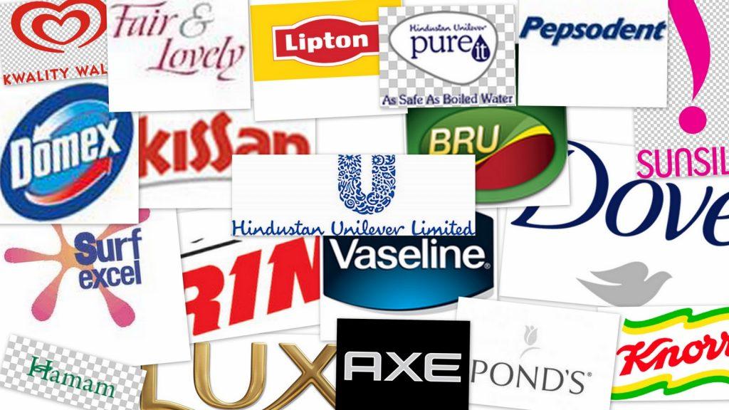 Loghi di prodotti Unilever (foto: logo-kid.com)
