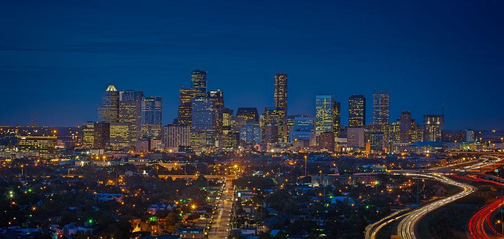 La città di Houston (foto: www.theneighborhoodsauce.com)