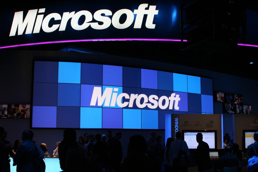 Microsoft al CES 2009 (foto: wikimedia.com)