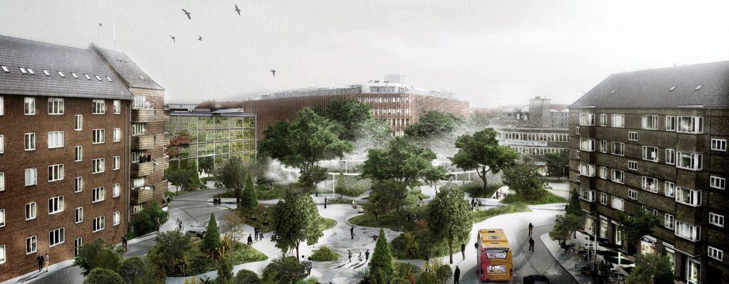 Il rendering del progetto di Copenaghen (foto: www.dac.dk)