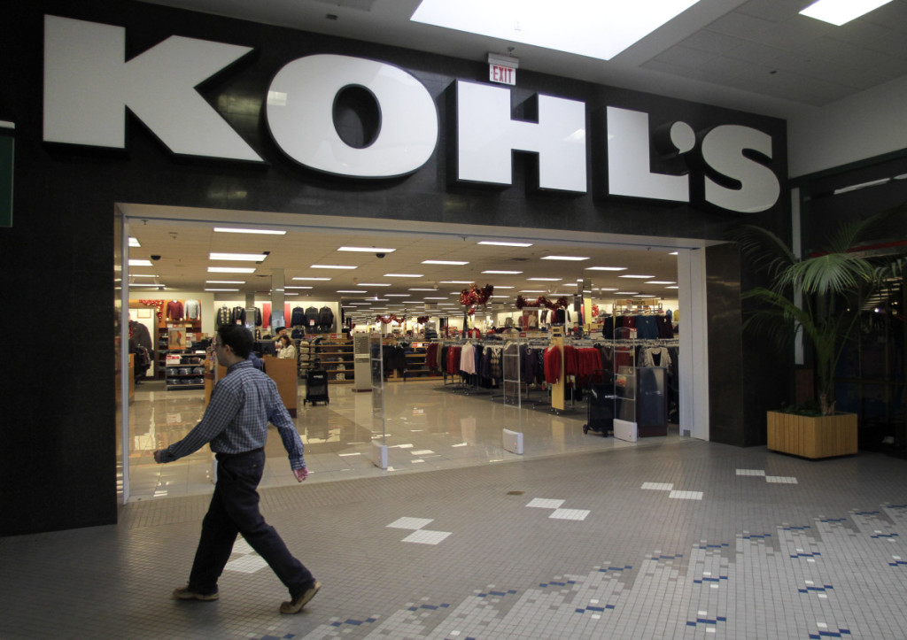 Un grande magazzino Kohl's (foto: americasmarkets.usatoday.com)