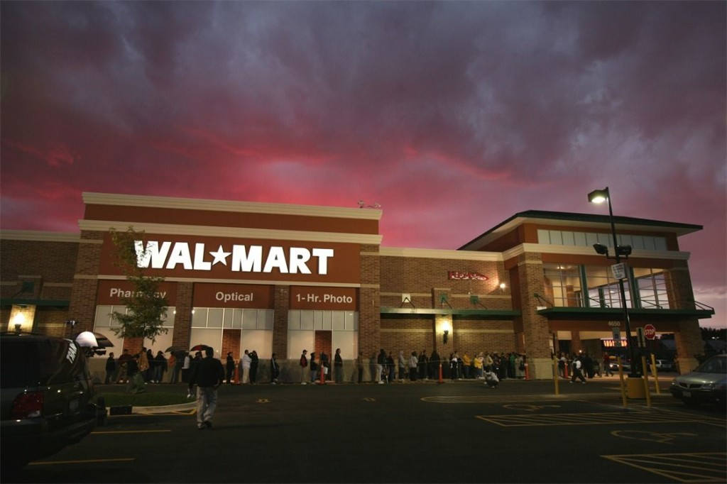 Un grande magazzino Wal-Mart (foto: www.digitaljournal.com)